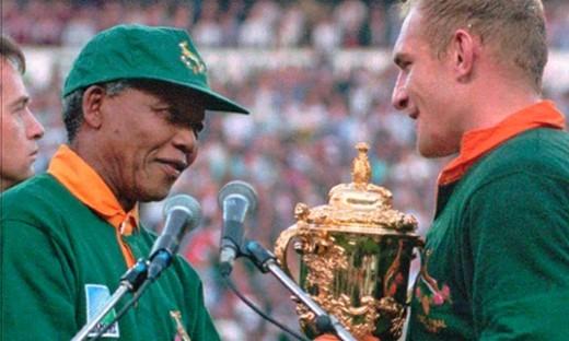 Nelson Mandela, Francois Pienaar