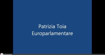 Patrizia Toia Eurodeputata parte 1