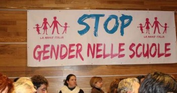stop gender scuole