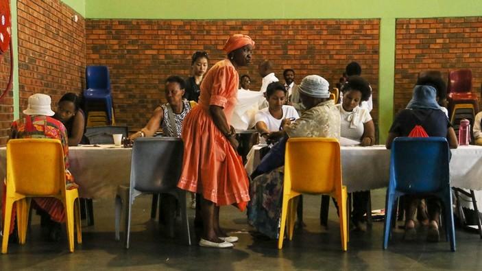 Sudafrica Ufficio A Sostegno Delle Donne