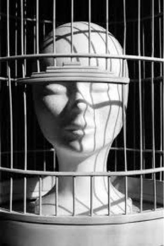 donna gabbia