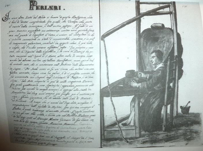 perlera descritta dal Grevemboch 1700 Archivio Museo Correr