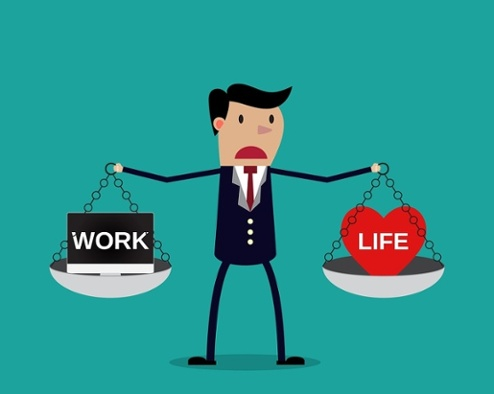 work life balance man