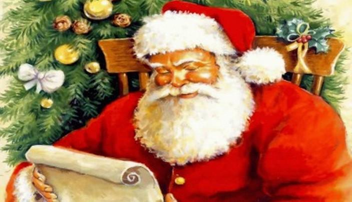 Babbo Natale Che Viene A Casa.Lettera Adulta A Babbo Natale