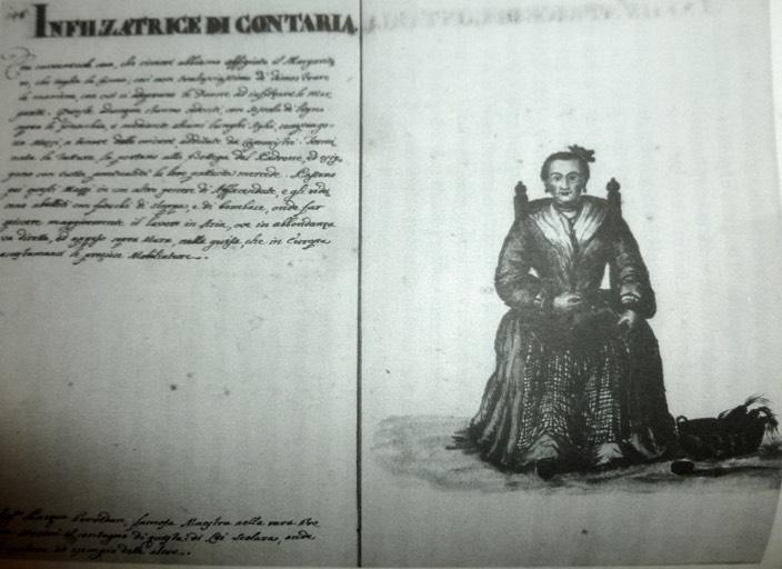 infilzatrice di contaria dal Grevembroch 18 secolo archivio Museo Correr alta def