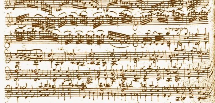 manoscritto Ciaccona