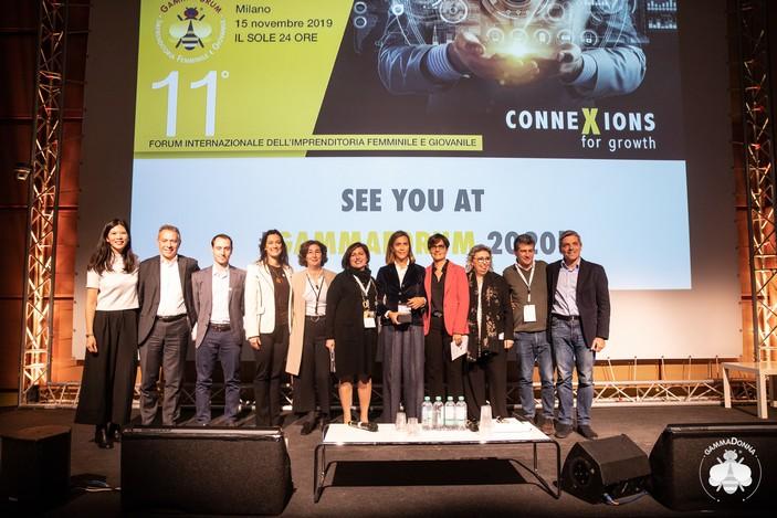 Sonja Blanc, Silvia Wang e la Giuria del Premio GammaDonna 2019
